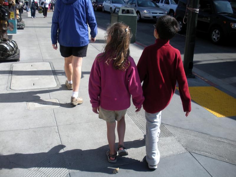 Kelly and Stevie Fisherman's wharf, San Francisco, CA