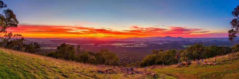 Sunrise over Ararat - Panorama