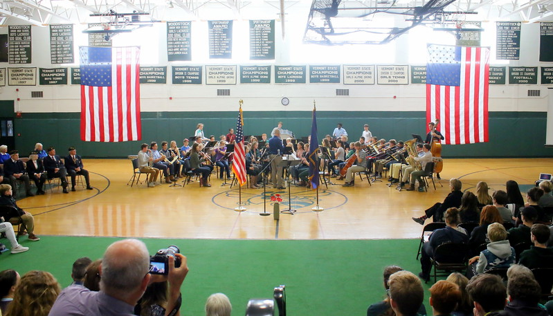 WUHS Veterans Day Ceremonies, 2017
