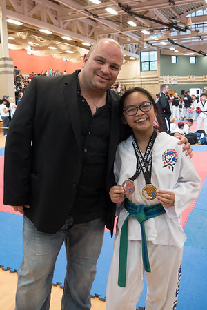 Lauren at Metro Open Taekwondo Championship 2018