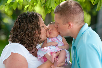 Baby Lindee & Family
