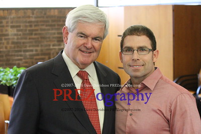 Newt Gingrich at Guide One