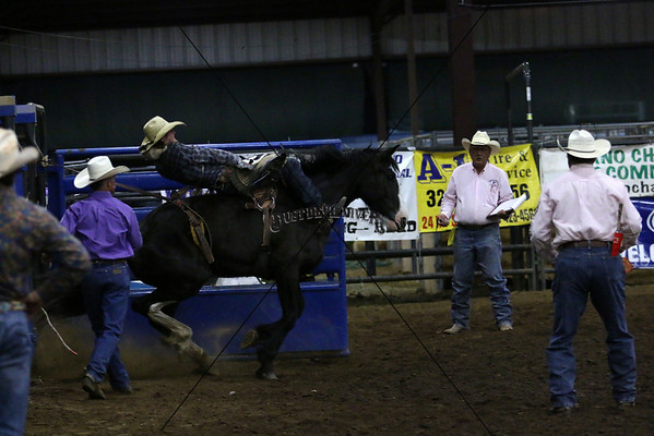 Saturday Saddle Bronc Riding