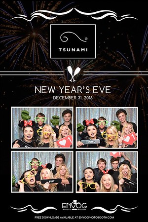New Year's Eve at Tsunami (prints)