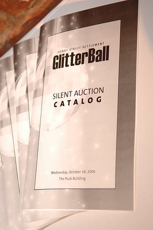 "The Henry Street Settlement's Annual Dinner Dance & Auction: "" Glitter Ball"""