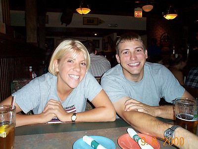 Dinner with Brian and Susan - September 8, 2000