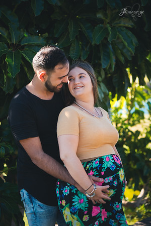 Ashleigh and Jose Maternity shoot