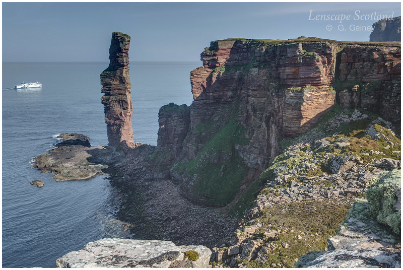 Old Man of Hoy and Stromness ferry (4)