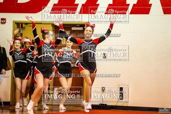 Hartsville Varsity Cheer Tomahawk Classic