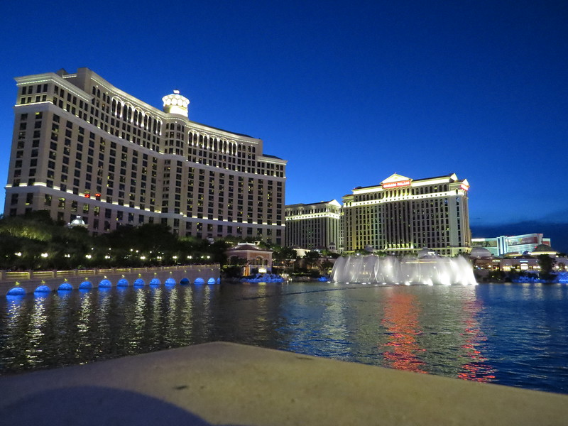 Bellagio (with Caesars Palace in right background)