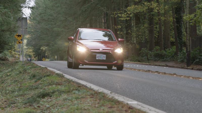 2017 Toyota Yaris iA Driving Reel
