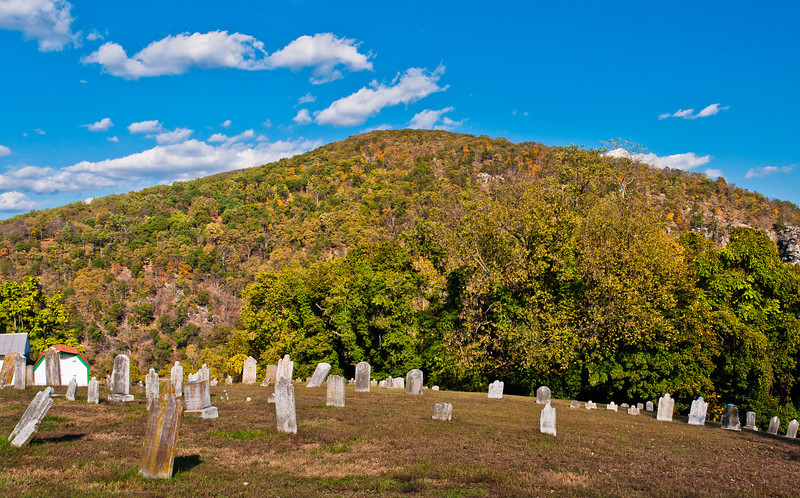 Harpers Ferry Cemetery, Harpers Ferry, WVA