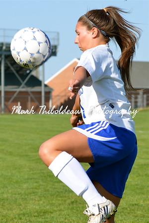 Lampeter-Strasburg Girl's Varsity Soccer v. PM 4.13.12
