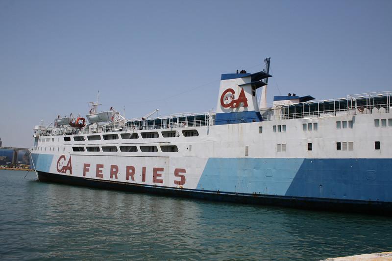 2011 - DALIANA laid up in Piraeus waiting for scrap.