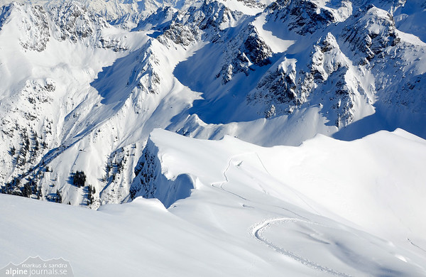 Winterelfer ski tour, Kleinwalsertal 2013-02-04