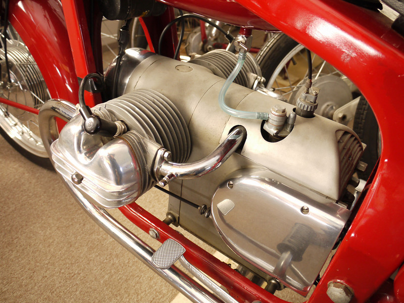 Capriolo 150 four stroke flat twin