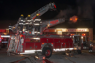 2 Alarm Commerical Building Fire - 560 Park Ave, Worcester, MA - 11/15/18