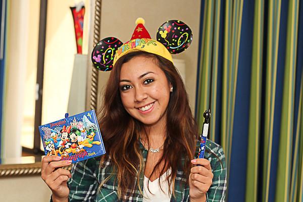 Alexis 20th Birthday Disneyland