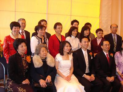 陈佾文之子婚禮 - March 20, 2010