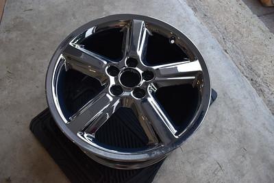 PVD Chromed Wheels