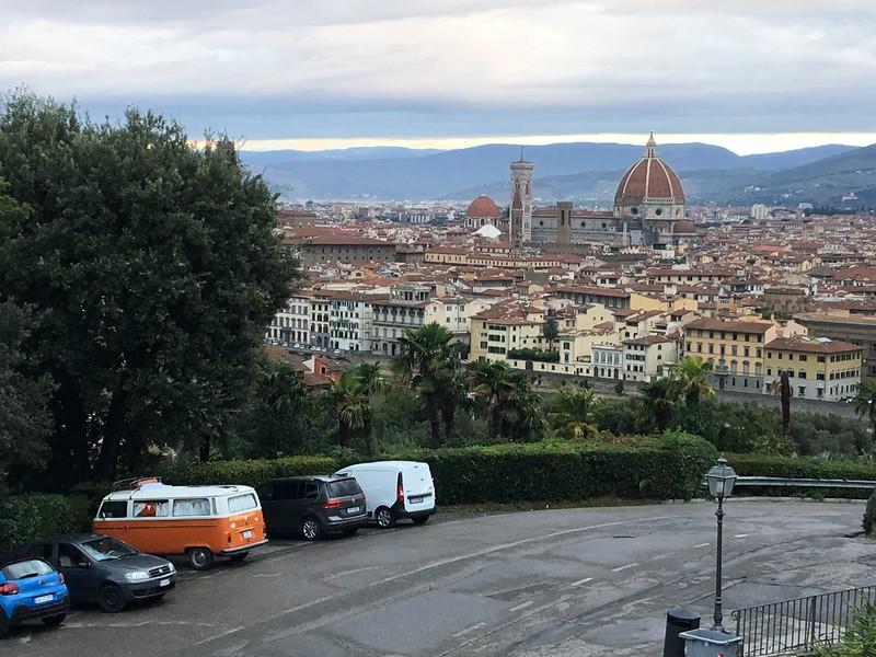 Ponte Vecchio and Duomo
