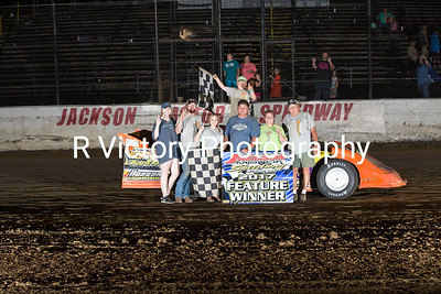 Feature Winners at Jackson Motor Speedway