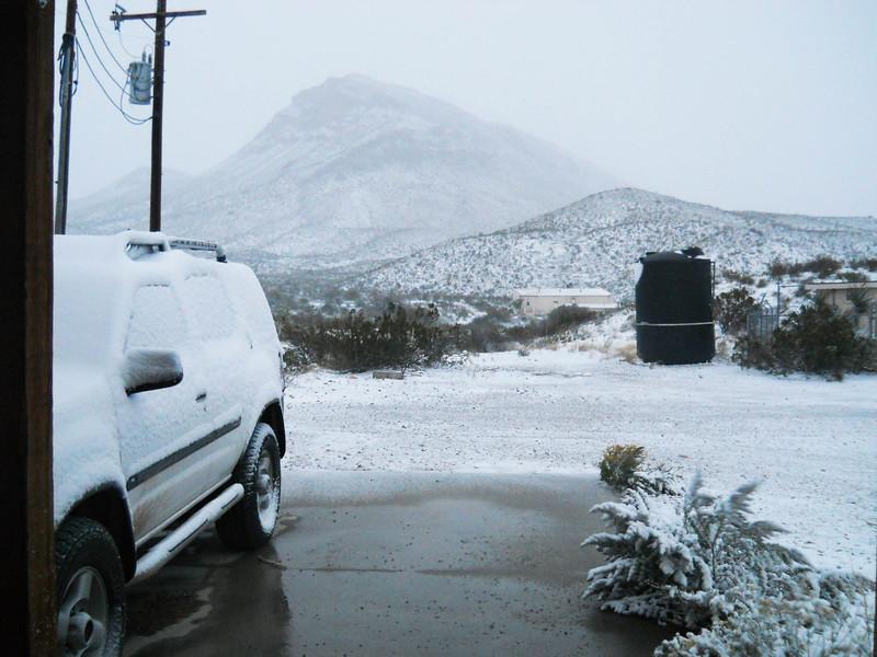 SNOW AT PGAP