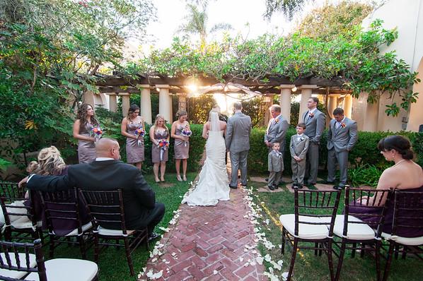 La Jolla Woman's Club & Wedding Bowl Wedding
