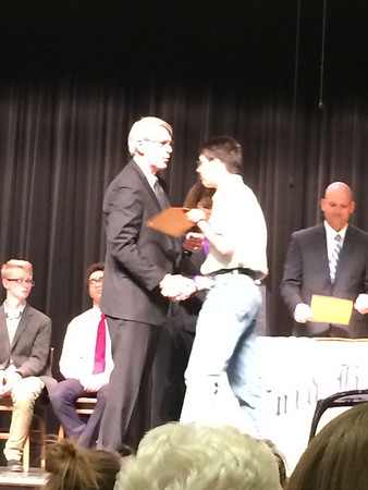 Rhys Honor Society Induction