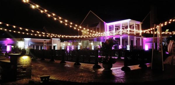 Cafe'/Bistro Lighting Wedding