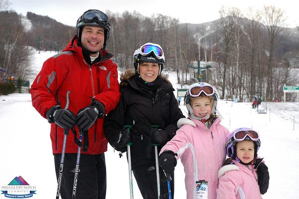 Geoff Schmidt & Family- Dec.30th Smugglers Notch