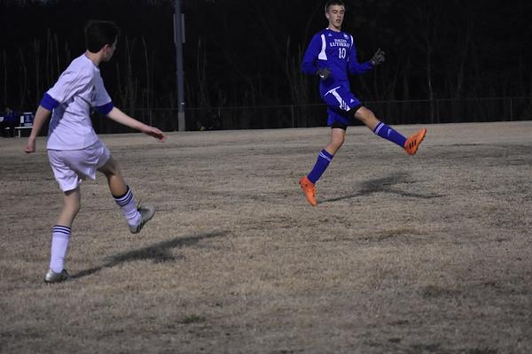 Varsity Soccer vs Dallas Lutheran & Senior Night