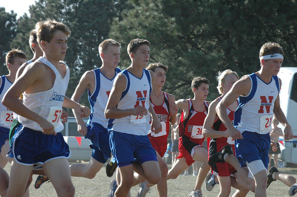 Var Boys XC @ Waverly Invite