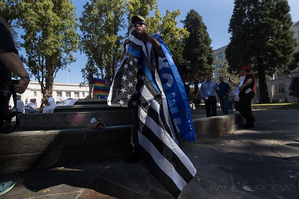 Berkeley Protest Aug. 27, 2017