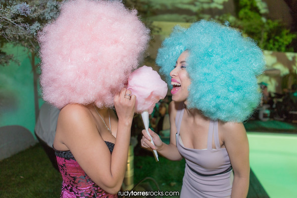 Hollywood Hills Private Cotton Candy Afterhours Party 4.10.2015