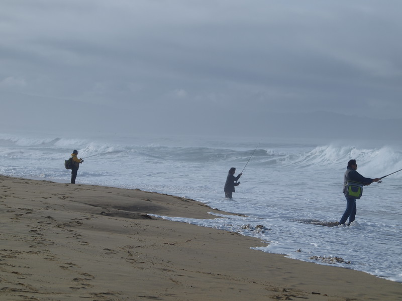 Fishermen With King Tides