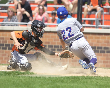 St. Charles East baseball vs. Marmion