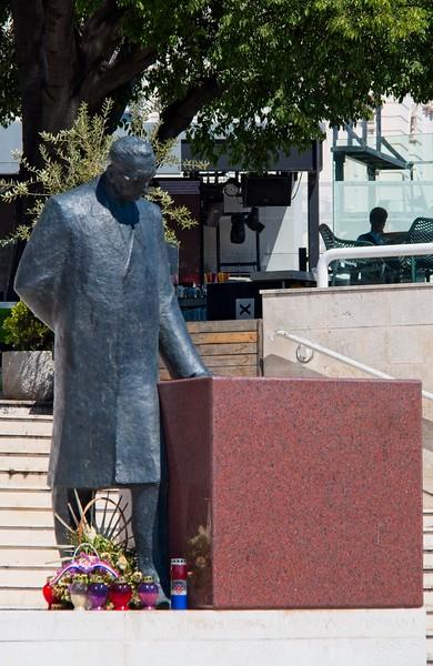 Tudman Statue, Split, Croatia