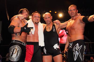 2015-06-20 ROH: Styles & Joe vs. The Addiction @ New York, NY