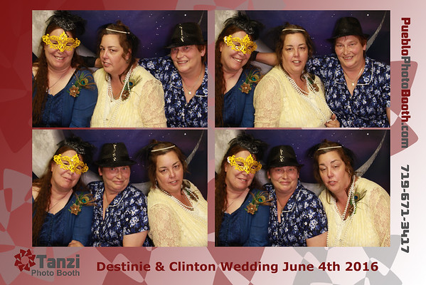 Destinie & Clinton Wedding - 2016