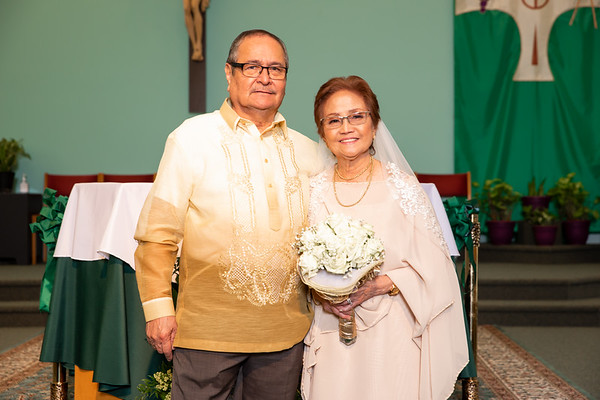 Herminia and Benilo Renewal of Vows