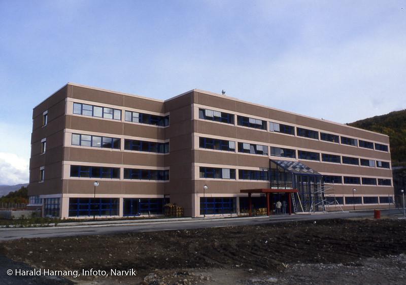 VINN-bygget var ferdig i 1986. Bildet kan være tatt like etter åpning.