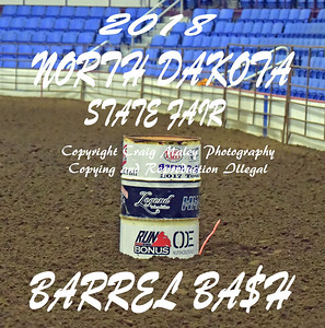 NORTH DAKOTA STATE FAIR BARREL BA$H