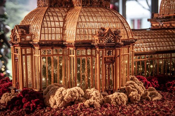 New York Botanical Gardens Christmas Train Exhibit