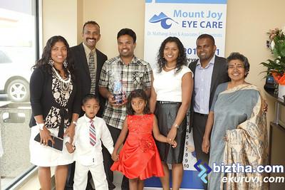 Mount Joy Eye Care - Dr. Mathangi Arun & Associates Grand Opening Ceremony-july-12-2014