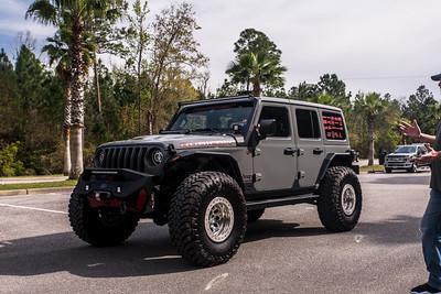 "@hammerheadarmor 2018 Gray Jeep JL 17"" polished bama"