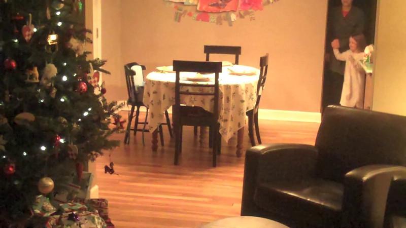 Christmas morning, 2011