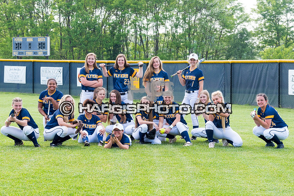 Lady Flyer Softball 2018