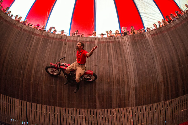 The Wall Of Death August 24, 2014