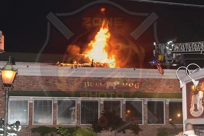 Amityville F.D. Signal 13  Merrick Rd.(Bulldog Grille) 8/28/18